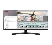 "LG 34UM88C 34"" UltraWide Quad HD IPS Zwart Flat computer monitor LED display"