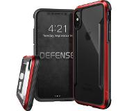 X-Doria Defense Shield Apple iPhone X Back Cover Rood