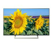 "Sony KD-49XF8096 49"" 4K Ultra HD Smart TV Wi-Fi Zwart LED TV"