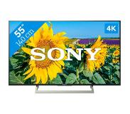 "Sony KD-55XF8096 55"" 4K Ultra HD Smart TV Wi-Fi Zwart LED TV"