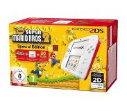 "Nintendo 2DS + New Super Mario Bos.2 3.53"" Touchscreen Wi-Fi Wit draagbare game console"