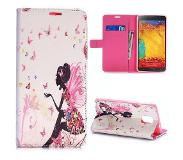Carryme Elfje booktype hoes Samsung Galaxy Note 4