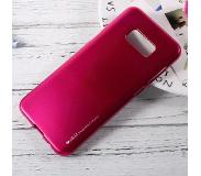 Carryme MERCURY GOOSPERY i JELLY Metallic TPU Skin Cover Samsung Galaxy S8 - Roze