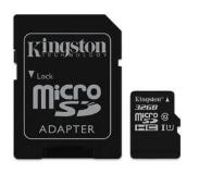 Kingston Technology MicroSD-kaart 32 GB class 10-UHSI met adapter