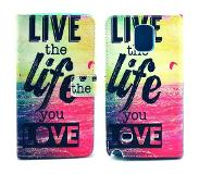 Carryme Life quote booktype hoes Samsung Galaxy Note 4