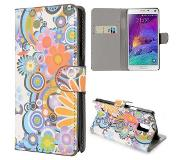 Carryme Powerflower booktype hoes Samsung Galaxy Note 4