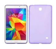 Carryme Paarse x-design tpu hoes Samsung Galaxy Tab 4 7.0