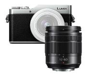 Panasonic LUMIX DMC-GX800 zwart/zilver + 12-60mm ASPH Power OiS