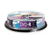 Philips 10 pack DVD-R 4.7 GB 16 x