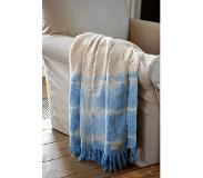Riviera Maison Summer Degradé Throw Blue 170*130