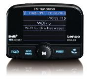 Lenco DAC-100 autoradio Zwart Bluetooth