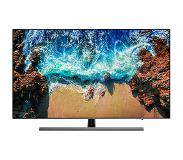 "Samsung UE49NU8070 49"" 4K Ultra HD Smart TV Wi-Fi Zwart, Zilver LED TV"