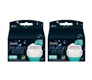 Wilkinson Sword Intuition Naturals Women Scheermesjes 3stuks