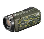 JVC GZ-R435 Handcamcorder 2.5MP CMOS Full HD Camouflage