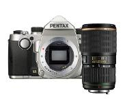 Pentax KP zilver + SMC DA 50-135mm F/2.8 ED IF