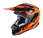 JUST1 Helmet J32 PRO KIDS Kick Orange 50-YM