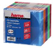 Hama Cd Slim Box 25-Pack Gekl.