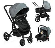 Little World City Walker Combi Kinderwagen Grijs (incl. autostoel)