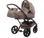 Knorr-Baby Kinderwagen Voletto Happy Colour beige-bruin - Beige