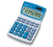 Ibico 210X calculator Desktop Basisrekenmachine Blauw, Wit