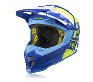 Acerbis Profile 4 MX Motor Helmet - Blue / Yellow - S