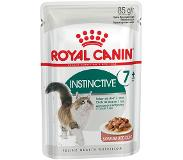 Royal Canin 24 x 85 g Royal Canin Instinctive +7 in Saus Kattenvoer
