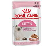 Royal Canin 48 x 85 g Royal Canin Kattenvoer - Kitten Instinctive in Saus