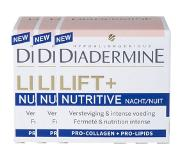Diadermine Lift+ Nutritive Nachtcreme Tray 3 X 50 Ml