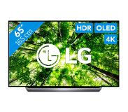 "LG OLED65C8PLA LED TV 165,1 cm (65"") 4K Ultra HD Smart TV Wi-Fi Zwart"