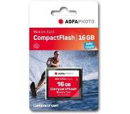 Agfaphoto Compact Flash, 16GB 16GB CompactFlash flashgeheugen