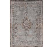 Louis De Poortere Vintage vloerkleed - The Fading world Grey Ebony 8257 230x330cm