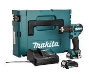 Makita DF332DSAJ Boormachine met pistoolgreep Lithium-Ion (Li-Ion) 2Ah 1200g accu boor-schroef machine