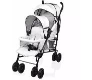Little World Dubbele buggy Twing grijs LWST002-GY