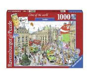 Ravensburger puzzel Fleroux Cities of the world: London - 1000 stukjes