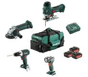 Metabo Combiset: Bouw & Renovatie - 4 machines