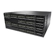 Cisco switch: Catalyst Catalyst 3650-48FS-S, Standalone, 1U, 48 x 10/100/1000 Ethernet PoE+, 4x1G Uplink ports, DRAM .....