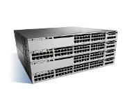 Cisco Catalyst WS-C3850-12XS-S netwerk-switch Managed Zwart, Grijs