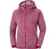 Columbia Chillin Jas Dames, pomegranate S 2018 Fleece truien