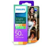 Philips LED SceneSwitch 50W GU10 warm wit