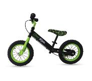 "FreeON Loopfiets FreeON - Free 2 Me Balance Bike ""Cool Ride"" - Black-Green"