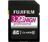 Fujifilm SDHC 32GB C10 HIGH PROFESSIONAL