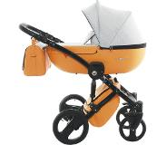 FreeON Fashion Luxe Oker-Oranje Combi Kinderwagen (incl. autostoel) (Levering begin juli)