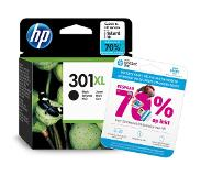 HP 301 Inkt Cartridge Zwart XL (CH563EE)