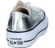 Converse - As Lift Ox - Sneaker laag sportief - Dames - Maat 38 - Zilver - Zilveren - Silver/Black/White