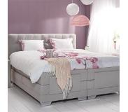 Cinderella Boxspring Cinderella Giselle Medium Talalay Grey-160 x 200 cm