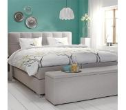 Cinderella Boxspring Cinderella Belle Medium Talalay Grey-160 x 200 cm