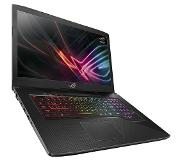 "Asus ROG Strix GL703GM-EE044T-BE SCAR Edition Zwart Notebook 43,9 cm (17.3"") 1920 x 1080 Pixels 2,2 GHz Intel 8ste generatie Core i7 i7-8750H"