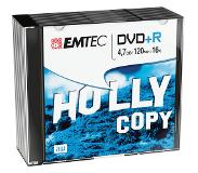 Emtec Pack 10 DVD+R 4.7 GB 16X