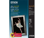 Epson Ultra Glossy Photo Paper - A4 - 15 Vellen