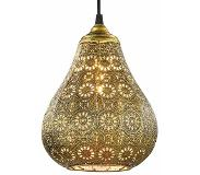 TRIO Oosterse hanglamp Jasmin in oud messing